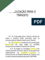 Leandromacedo Legislacaodetransito Completo 130 Educacao Para o Transito Atualizado
