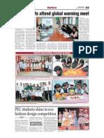 QEC Students Attend Global Warming Meet