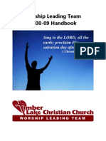 Worship Leading Team Handbook