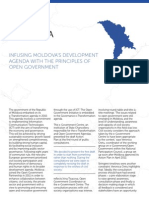 Infusing Moldova's development agenda with the principles of open government