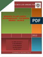 Formato de Sillabus de Jorge Puyol