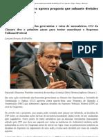 Comissão da Câmara aprova proposta que submete decisões do STF ao Congresso - Brasil - Notícia - VEJA