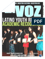 La Voz June 15 - July 15, 2013