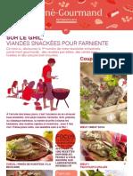Carné Gourmand - Edition été 2013