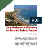 Los profesionales en Turismo y las Rutas del Turismo Peruano