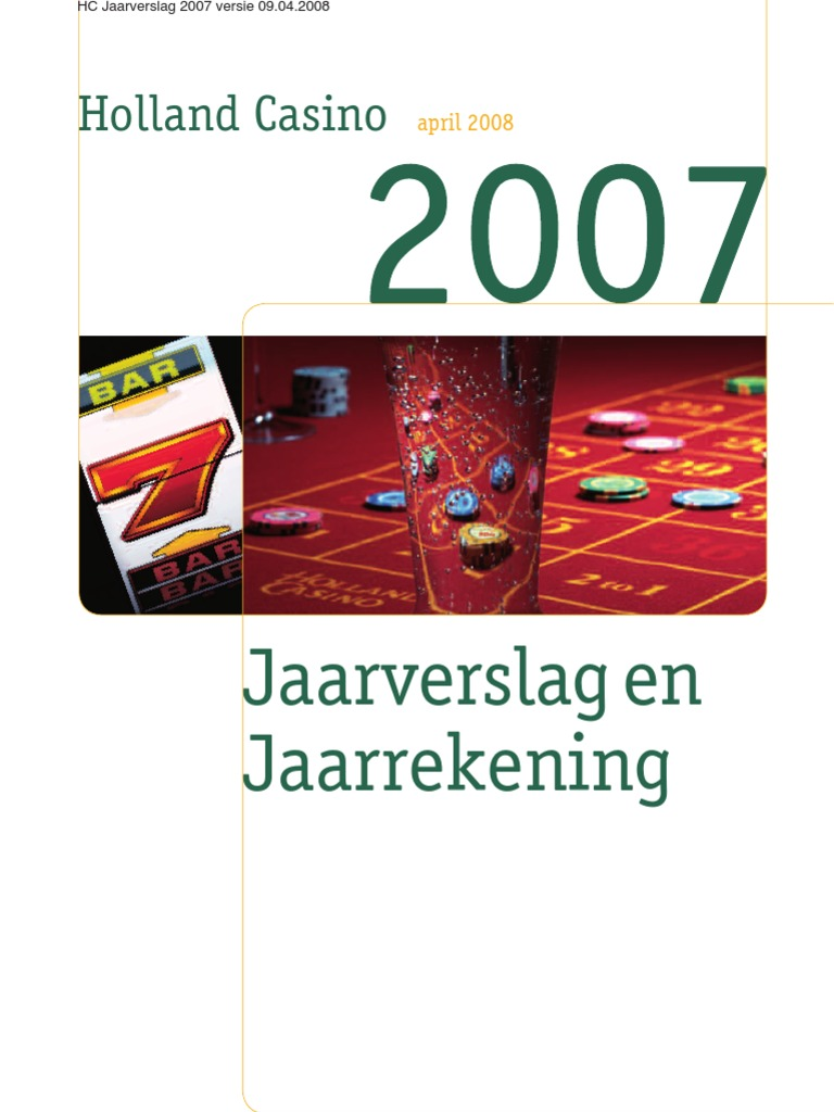 Jaarverslag Holland Casino