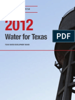 Texas State Water Plan 2012