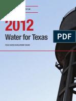 Texas State Water Plan 2012