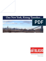 One New York, Rising Together