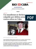 Boletín de DIARIO DE CUBA | Del 13 al 18 de junio de 2013