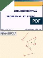 Geometria Descriptiva Punto 2010-I(PROBLEMAS)2