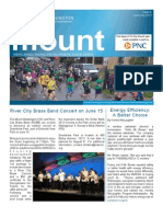 On The Mount Newsletter June/July 2013