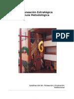 Guia metodologica de planeacion estrat+®gica