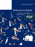 McKinsey Marketing & Sales Practice - Strike Up the Brands