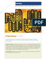 McKinsey on Marketing Organizing for CRM