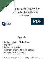 IRS Powerpoint Presentation