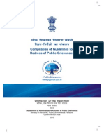 Compilation of Guidelines for Redress of Public Grievances - Naresh Kadyan