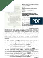 Denuncia penal a jueza Guillén Ledesma por concurso real de delitos