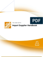 Import Supplier Handbook 092811