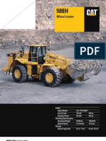 Caterpillar 988H Manual