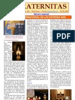 Fraternitas 2009-Especial Español