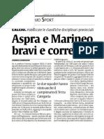 La Sicilia CT Vittoria Coppa Disciplina Aspranuova 2000