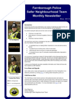 NHW Newsletter - May 2013