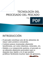 TECNOLOGÍA DEL PROCESADO DEL PESCADO