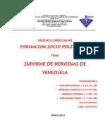 HEROINAS FORMACION SOCIOPOLITICA