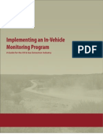 Implementing an In-Vehicle Monitoring System (IVMS) Program