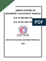 RD-N211-Reglamento-Interno Ejemplo Reglamento Interno de Seguridad y Salud en El Trabajo