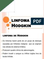 linfoma de Hodgkin-SLIDES APRESENTAÇÃO
