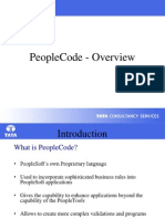 PeopleCode Overview