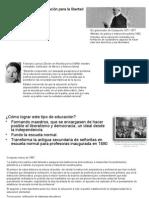 Joaquín Baranda y la educación para la libertad 1