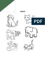 Animals 1 Para Pintar y Escribir