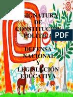 Derecho Constitucional y Legislacion Educativa 1