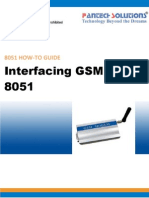 Interfacing GSM With 8051