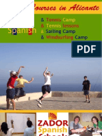 Spanish Programs for Juniors in Spain 2009