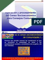 Presentacion CENSO Socioeconomico Para CONSEJOS