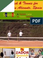 Tennis Camps in Spain for Juniors