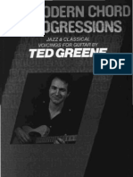 Modern Chord Progressions - Jazz and Classical Voicings for Guitar - Ted Greene (Jazz Harmony Series)