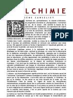 [Alchimie] Canseliet Eugène - L'Alchimie