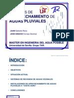 Presentacion-Aprovechamiento de Aguas Pluviales