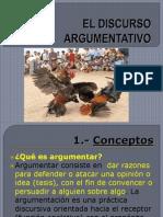 discurso argumentativo.ppt
