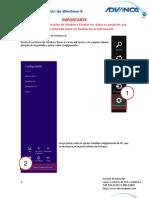 Manual de Recuperación de Windows 8