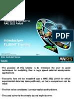 FLUENT13 Workshop XX RAE Airfoil