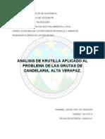 Analisis de Krutilla - Investigacion