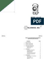 Manual Del Wattimetro 44a Vswr