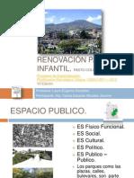 intervención urbana parque infantil pasto colombia