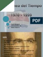 Linea Del Tiempo 1970 - 1999
